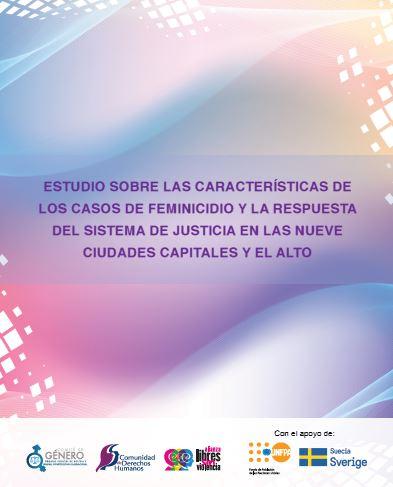 Análisis de expedientes de casos de feminicidio a nivel nacional, que forman parte de los archivos administrativos del Órgano Judicial