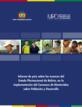 Informe de Bolivia sobre los avances en la implementación del Consenso de Montevideo